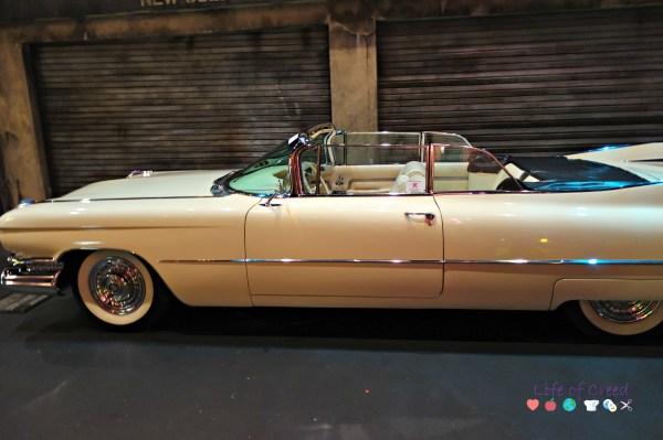 history garage. Tokyo Japan. 1959 Cadillac