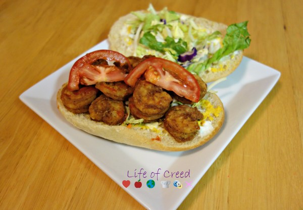 Easy Shrimp Po Boy Recipe via @LifeofCreed
