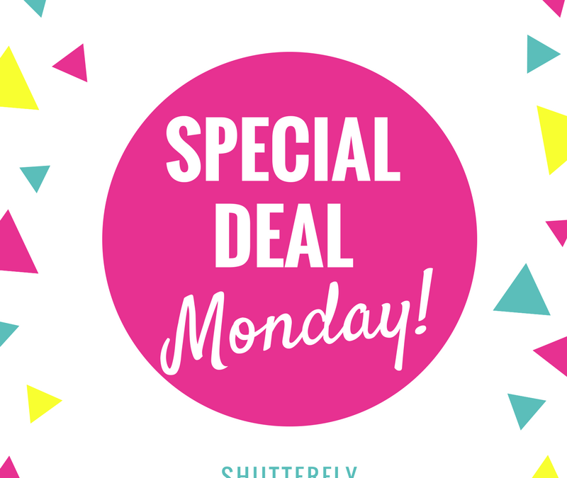 Special Deal Monday!!!! Shutterfly