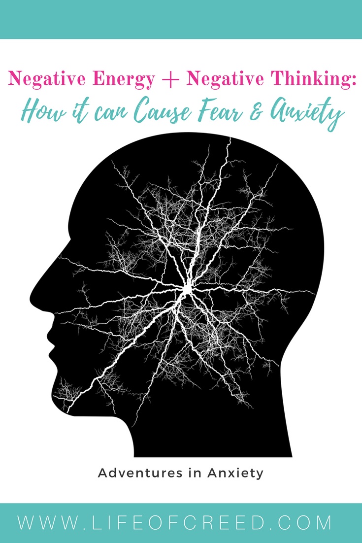 It's about negative energy, negative thinking, negative mindset and how it can keep you in fear and anxiety. Lately, I have been working on not letting negativity into my headspace, it could be worrying about other people's drama.