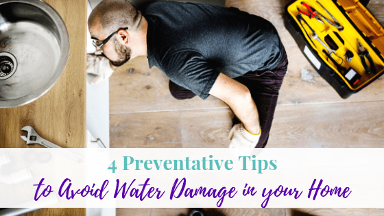 4 Preventative Tips to Avoid Water Damage in Your Home