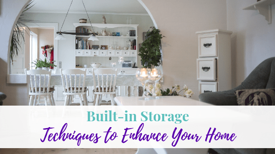 How built-in storage techniques enhance your Home