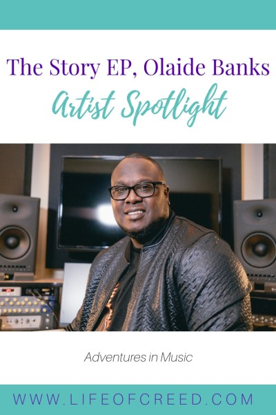 """Olaide Banks' being from the Caribbean brings us an amazing Christian reggae song """"I'm Blessed"""" on The Story EP. This song is a reminder that blessings come in many forms and sometimes a bad day can also be a blessing."""