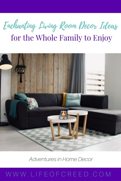 Why not start with redecorating your living room? It's an area designated for family gatherings, so try to make it as inviting as possible. Here are some decor ideas that will help you transform your living room into a cozy family nest.