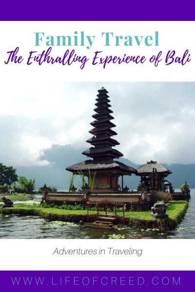Due to its broad charm, Bali in particular is a great place to go on family travel, especially with your children.