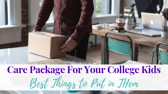Care Packages for College Kids: Best Things to Put in Them
