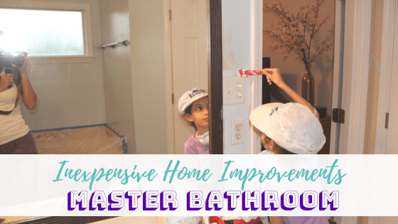 Inexpensive Home Improvements: Master Bathroom
