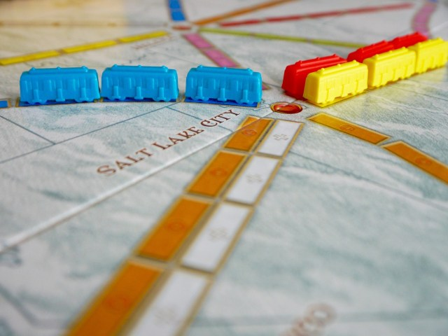 Ticket to ride game, improve math skills.