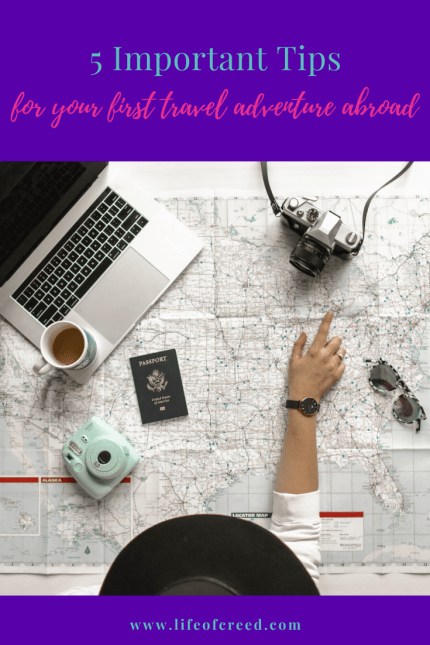 Tips first travel adventure abroad
