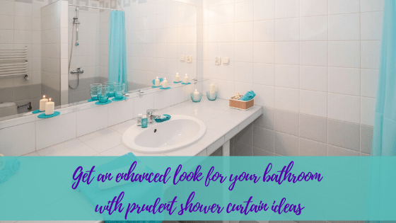 Get an enhanced look for your bathroom with prudent shower curtain ideas