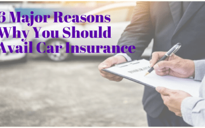 6 Major Reasons Why You Should Avail Car Insurance