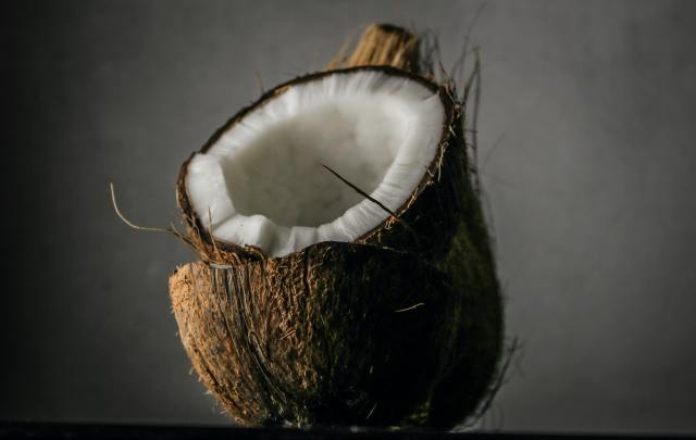 Young, green coconuts contain water rich in potassium and other electrolytes that can help your body replenish those that are lost during intense workouts.