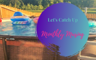 Let's Catch Up… Monthly Musing
