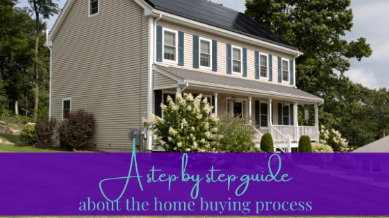 A Step by Step Guide About the Home Buying Process