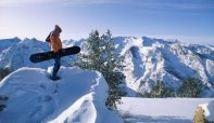 Snowboarding: Burns about 480 calories per hour
