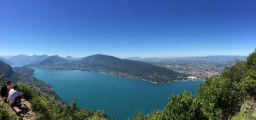 The view of Lake Annecy from Mount Veyrier!