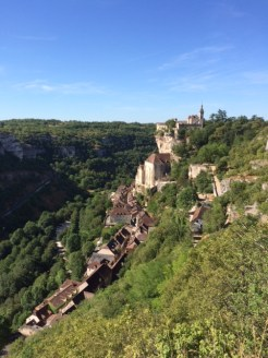 A view from Rocamadour