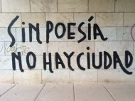 Córdoba has it right: 'Without poetry, there is no city'