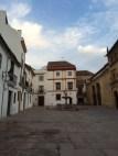 Plaza del Potro, right where our old hostel was :)