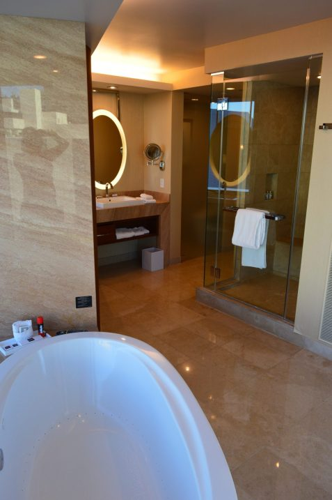 The Aria Tower Suites Bathroom Las Vegas