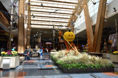 The Aria Halloween Display 2016