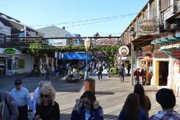 Pier 39 shops San Francisco