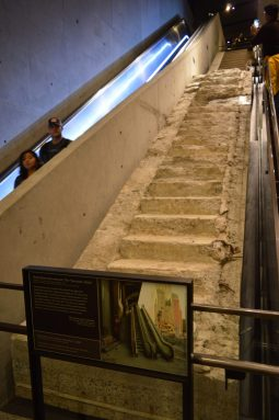 "The ""Survivors' Stairs"" September 11 Memorial Museum"