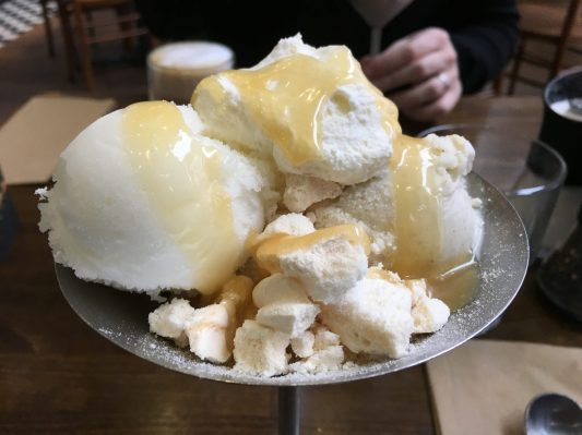 Lemon Meringue Sundae