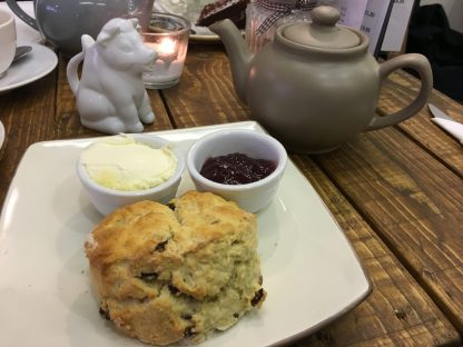 Wheldrakes Cafe, Cream Tea, York