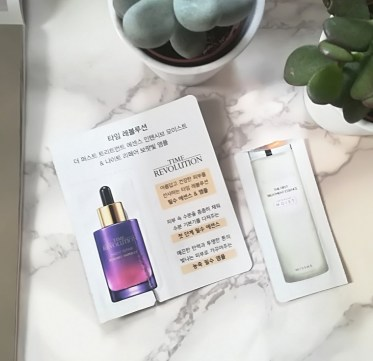 Missha Time Revolution The First Treatment Essence & Night Repair Ampoule