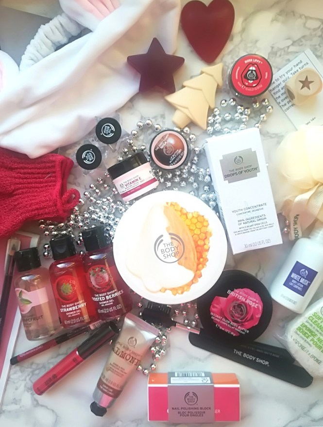 The Body Shop Beauty Advent Calendar All Days