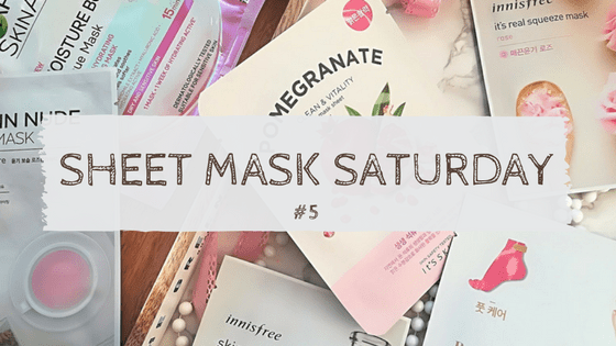 Sheet Mask Saturday 5