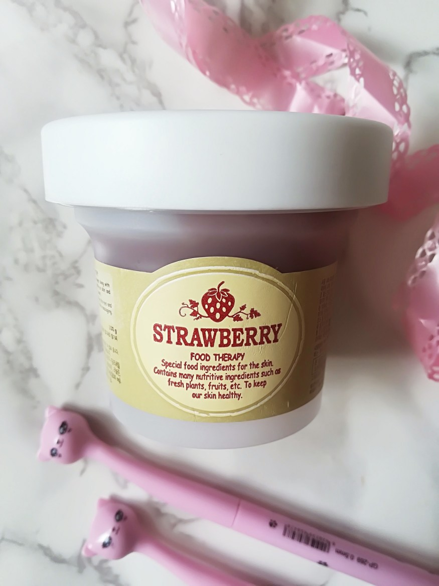 Delicious Strawberry Sugar Mask Life Of Menta Skin Food Black Wash Off Skinfood