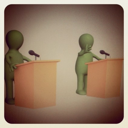 Today is all about...debating