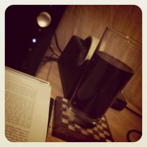 Today is all about...the vodka & coke to assist with the studying!!!