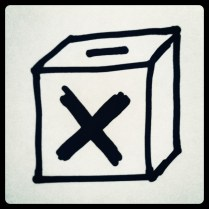 Today is all about...local elections & referendum (I voted)