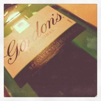Today is all about...not liking tea, but gin!