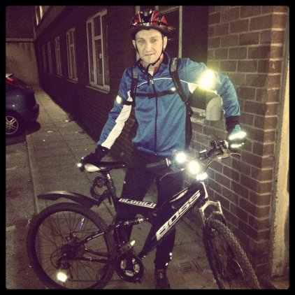 Today is all about...late night bike ride