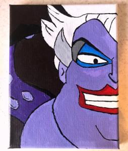 Disney's Ursula painting