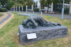 A moving sculpture presented by Iraq to the OPCW, in light of chemical weapons used by the former regime against the Kurdish civilian population