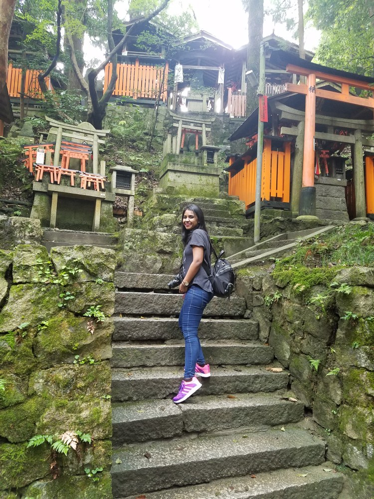 Japanese cemetery, walking on the steps of a Japanese Cemetery, travelling for 2.5 years, living abroad