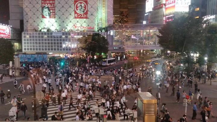 Finding Shibuya Crossing in Tokyo