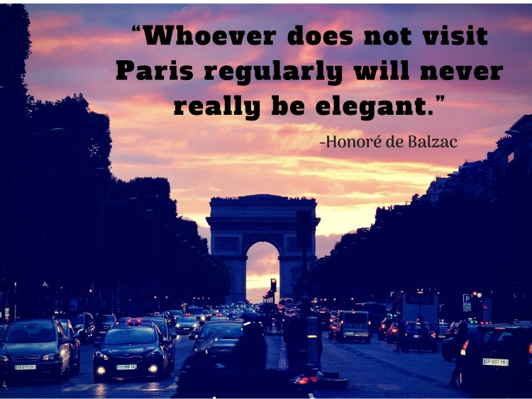 We'll always have Paris. (1)