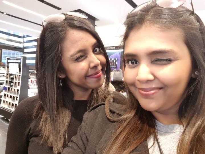 Makeovers at Sephora, NYC