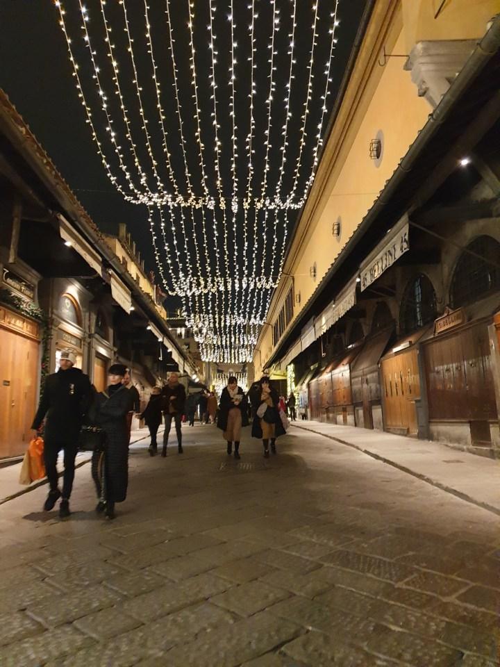 Italy, ponte vecchio, Italian nights