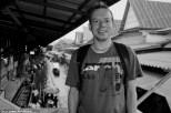 Me at Damnoen Saduak - The Floating Market