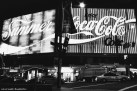 Coca Cola sign at Kings Cross