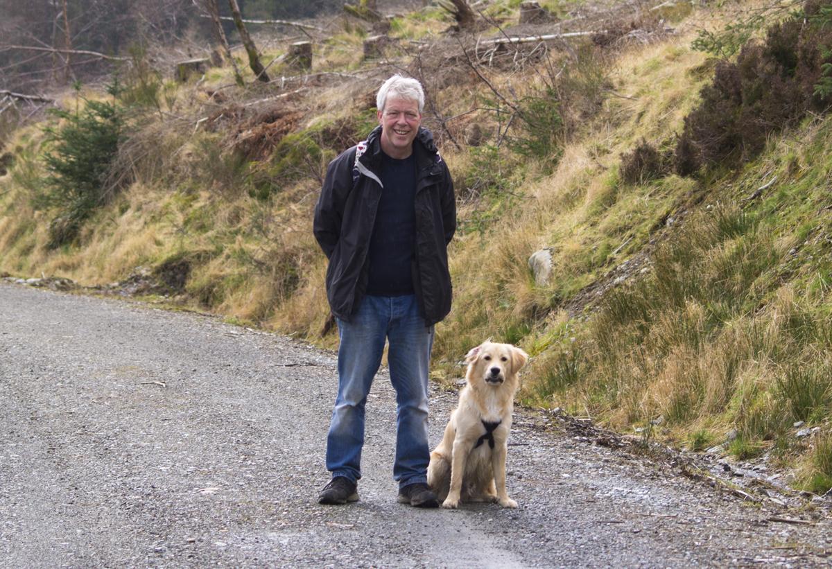 Dog walking services West Edinburgh