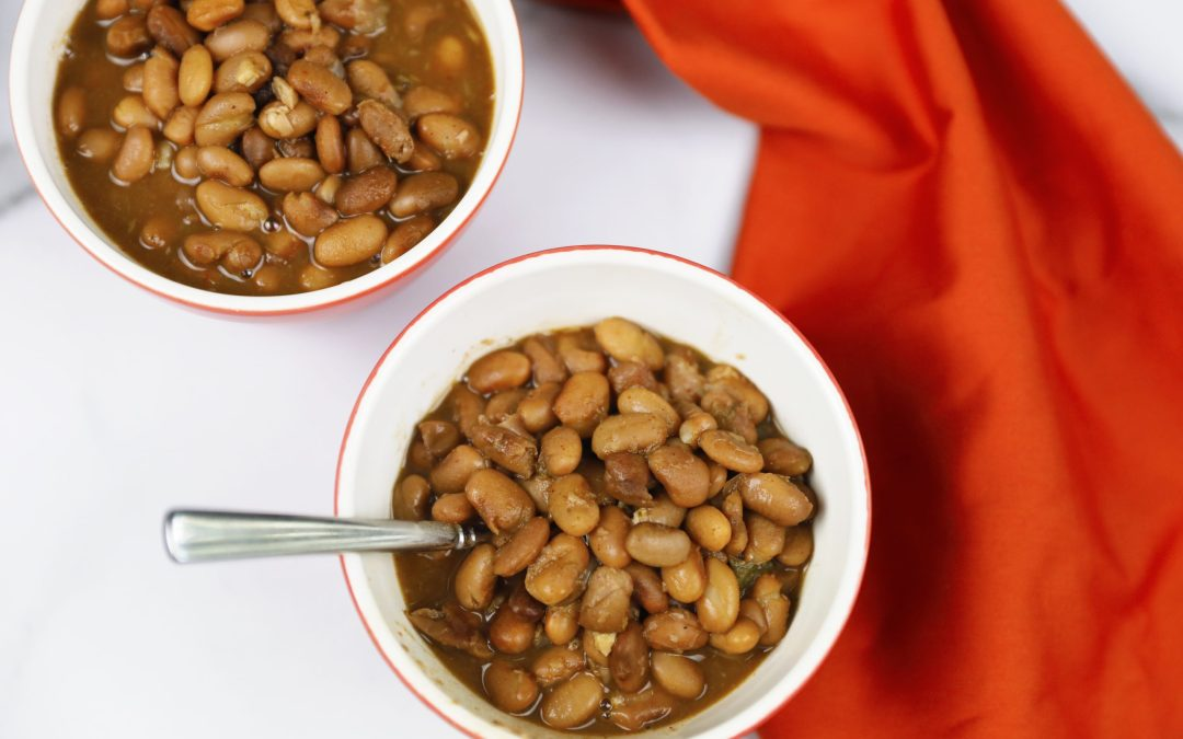 Delicious Pinto Beans are a breeze with your Insta Pot and dried beans