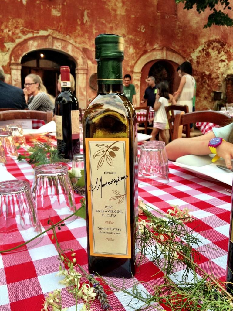 unbelievably delicious Montestigliano olive oil